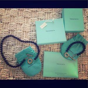 Tiffany & Co necklace and bracelet set
